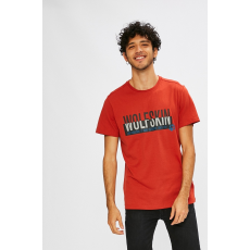 Jack Wolfskin - T-shirt - karmazsinvörös szín