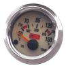 Jacky Auto Olajhőfok mérő óra, króm (KC)