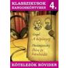 JAM AUDIO KÖTELEZŐK RÖVIDEN 4. - GOGOL: A KÖPÖNYEG / DOSZTOJEVSZKIJ: BÛN ÉS BÛNHÕDÉS (HANGOSKÖNYV)