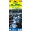 Jasper Nemzeti Park és Észak-Alberta térkép - ITM