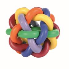 Játék Gumi Csomós Labda 10cm játék kutyáknak