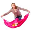 Játéktároló és játszószőnyeg 2 az 1-ben - pink - 150 cm
