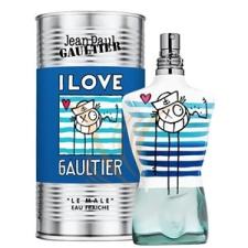 Jean Paul Gaultier Le Male I Love Gaultier André Saraiva Edition Eau Fraiche Teszter 125 ml parfüm és kölni