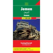Jemen autótérkép - f&b AK 158 térkép