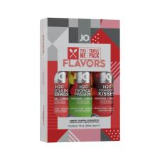 JO System Flavors - ízes síkosító szett (3db) síkosító
