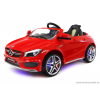 Joko Elektromos Kisautó Mercedes CLA-Világító Kerék és Alváz-Piros