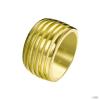 JOOP Női gyűrű nemesacél arany csíkoss JPRG00001B1 56 (17.8 mm Ă?)