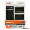 Jupio Canon LP-E6 1700mAh akkumulátor és USB Single Charger Kit