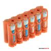 Jupio Power Clip 12 darabos AA akkumulátor tartó
