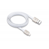 Just Mobile DC268GD AluCable Flat Gold Lightning-USB 1,2m Just Mobile