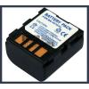 JVC GR-D650EX 7.4V 1200mAh utángyártott Lithium-Ion kamera/fényképezőgép akku/akkumulátor