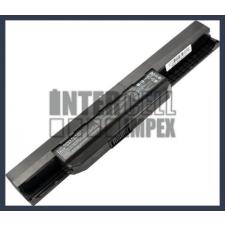 K53T 4400 mAh 6 cella fekete notebook/laptop akku/akkumulátor utángyártott asus notebook akkumulátor