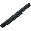 K56CB Series 2200 mAh 4 cella fekete notebook/laptop akku/akkumulátor utángyártott