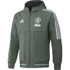 kabát adidas Manchester United UCL Presentation - Trace Green