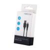 Kábel: Forever fekete Micro USB adatkábel 1m