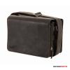 Kalahari Fotós táska bőr KAAMA L-22, valódi bőr oldaltáska, válltáska bivalybőr színben