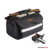 Kalahari Kerékpáros Fotós táska SWAVE S-35, kormány adapterrel, gyöngyvászon biciklitáska fekete ...