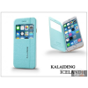 Kalaideng Apple iPhone 6 flipes tok - Kalaideng Iceland 2 Series View Cover - turquoise blue