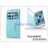 Kalaideng Apple iPhone 6 Plus flipes tok - Kalaideng Iceland 2 Series View Cover - turquoise blue
