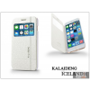 Kalaideng Apple iPhone 6 Plus flipes tok - Kalaideng Iceland 2 Series View Cover - white