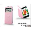 Kalaideng LG L90 D405 flipes tok - Kalaideng Iceland 2 Series View Cover - pink