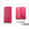 Kalaideng Samsung SM-G900 Galaxy S5 flipes tok - Kalaideng Oscar 2 Series - pink