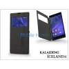 Kalaideng Sony Xperia T3 (D5103) flipes tok - Kalaideng Iceland 2 Series View Cover - black