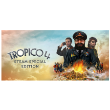 Kalypso Media Digital Tropico 4 (PC - Steam Digitális termékkulcs) videójáték