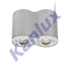 KANLUX BORD DLP-250-AL Mennezetől kiemelkedő spot- 22553
