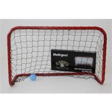 Kapu foci és floorball multisport BANDIT M 90x60x40 cm , kisméretű könnyen hordozható kapu hálóval futball felszerelés