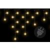 Karácsonyi világítő eső 144 LED meleg fehér - 5 m