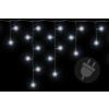 Karácsonyi világítő lánc 144 LED hideg fehér - 5 m
