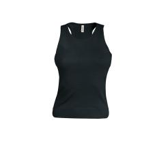KARIBAN női trikó, fekete (Kariban női trikó, fekete)
