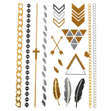 Karkötők arany tetoválás karkötő