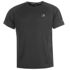 Karrimor férfi futópóló - Karrimor Short Sleeve Run T Shirt Mens Black férfi póló