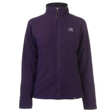 Karrimor női cipzáras polár pulóver - Karrimor Fleece Jacket Purple