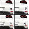 KaticaMatrica.hu Autós matrica - Egyedi VW logó (csomag)