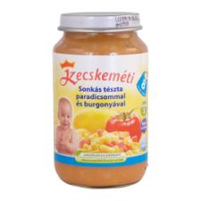 Kecskeméti Bébiétel 8 hónapos kortól 220 g sonkás tészta paradicsommal és burgonyával bébiétel