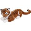 Keel Toys Fekvő tigris plüssfigura - 75 cm