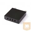 KELine RA-FO-04SC Elosztódoboz 4 x SC-SC, LC-LC Duplex vagy E2000-E2000 toldóhoz, üres