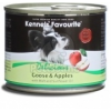 Kennels' Favourite with Goose & Apples / Libahús és Alma 200 g