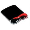 Kensington Crystal Gel Mouse Pad Wave Piros (62402)