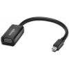 Kensington Mini DisplayPort VGA/D-Sub Átalakító Fekete 20cm K33987WW