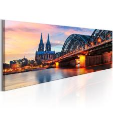 Kép - Cologne, Germany 120x40 grafika, keretezett kép