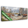 Képáruház.hu Alexander von Bensa: Visszatérés a kastélyba kocsikázás után (Színverzió 1)(45x20 cm, vászonkép)