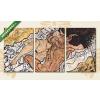 Képáruház.hu Egon Schiele: Ölelés(125x60 cm, L02 Többrészes Vászonkép)
