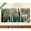 Képáruház.hu Henri Rousseau: A Luxembourg- kert(125x60 cm, L02 Többrészes Vászonkép)
