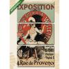 Képáruház.hu Jules Chéret: Exposition Tableaux et Dessins de A. Willette(125x70 cm, L01 Többrészes Vászonkép)