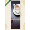 Képáruház.hu Kávé evolúció(125x40 cm, B01 Többrészes Vászonkép)