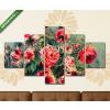 Képáruház.hu Pierre Auguste Renoir: Rózsás csendélet(135x70 cm, S01 Többrészes Vászonkép)
